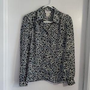D'Allaird's long-sleeve blouse